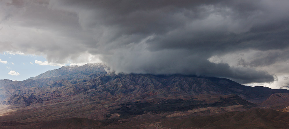 Death Valley Storm Clouds. 2013. Canon EOS-1Ds Mark III