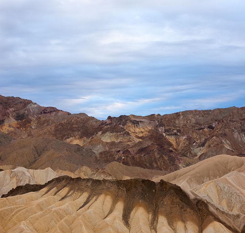 Hills. Zabriski Point. Death Valley. 2013. Canon EOS-1Ds Mark III.