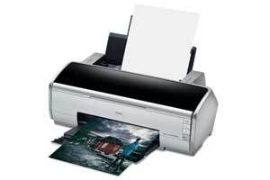 1 Epson 2400 printer left.