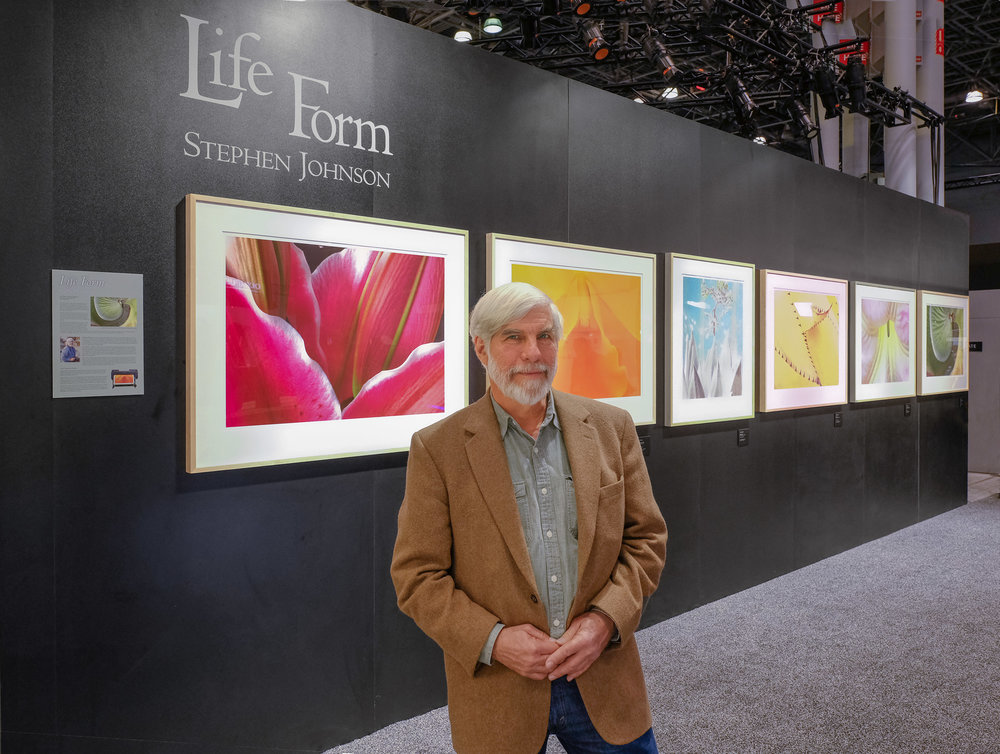 "Steve at the ""Life Form"" Display. PhotoPlus. New York City. NY. 2017. Canon 5DSr."