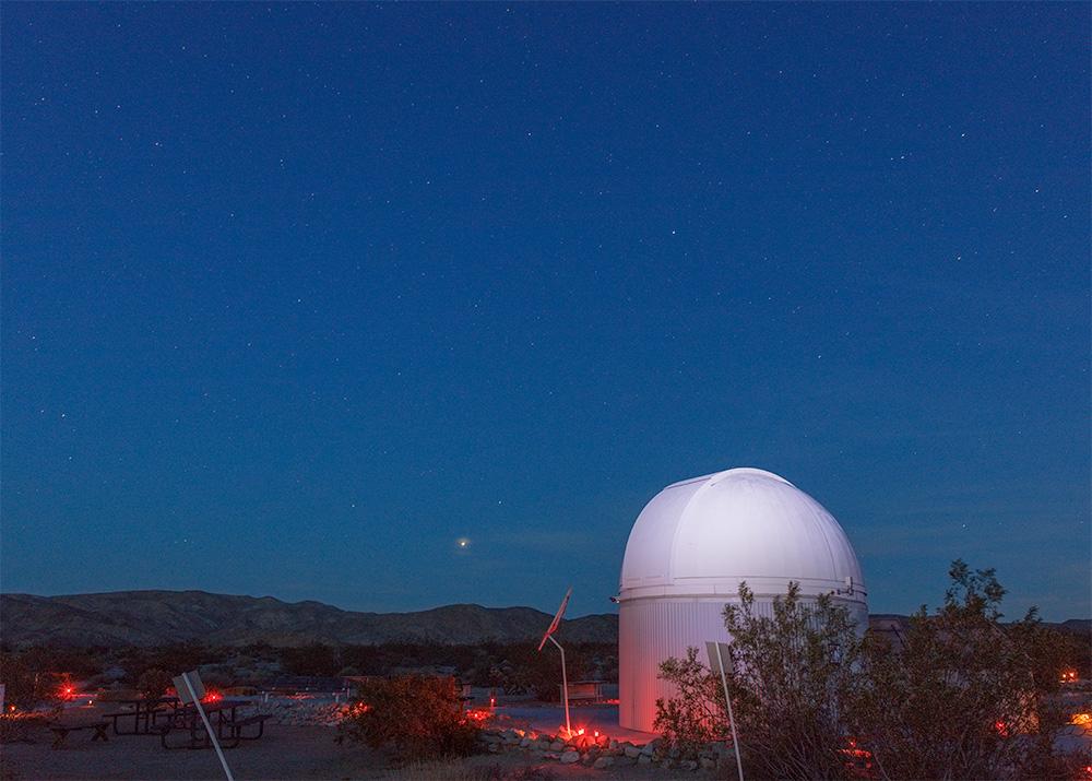 Stargazers Observatory . 29 Palms, CA. 2018. Canon EOS 5DSr.