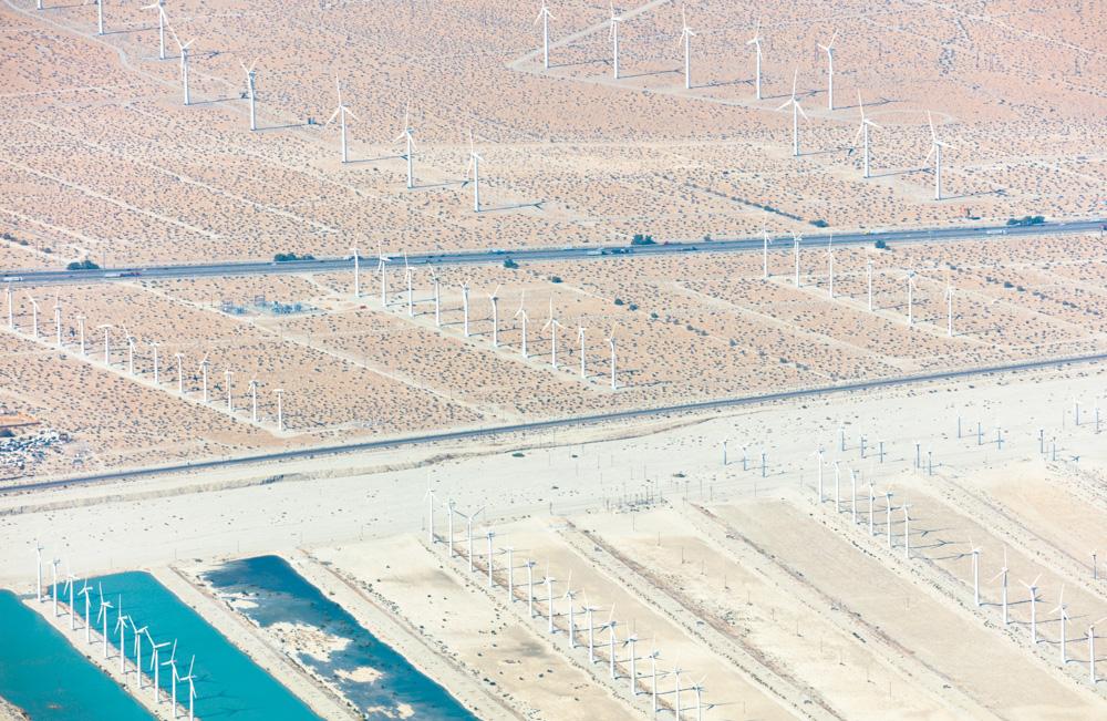 Wind Farm, San Gorgonio Pass . Whiteriver, CA. 2018. Canon EOS 5DSr.