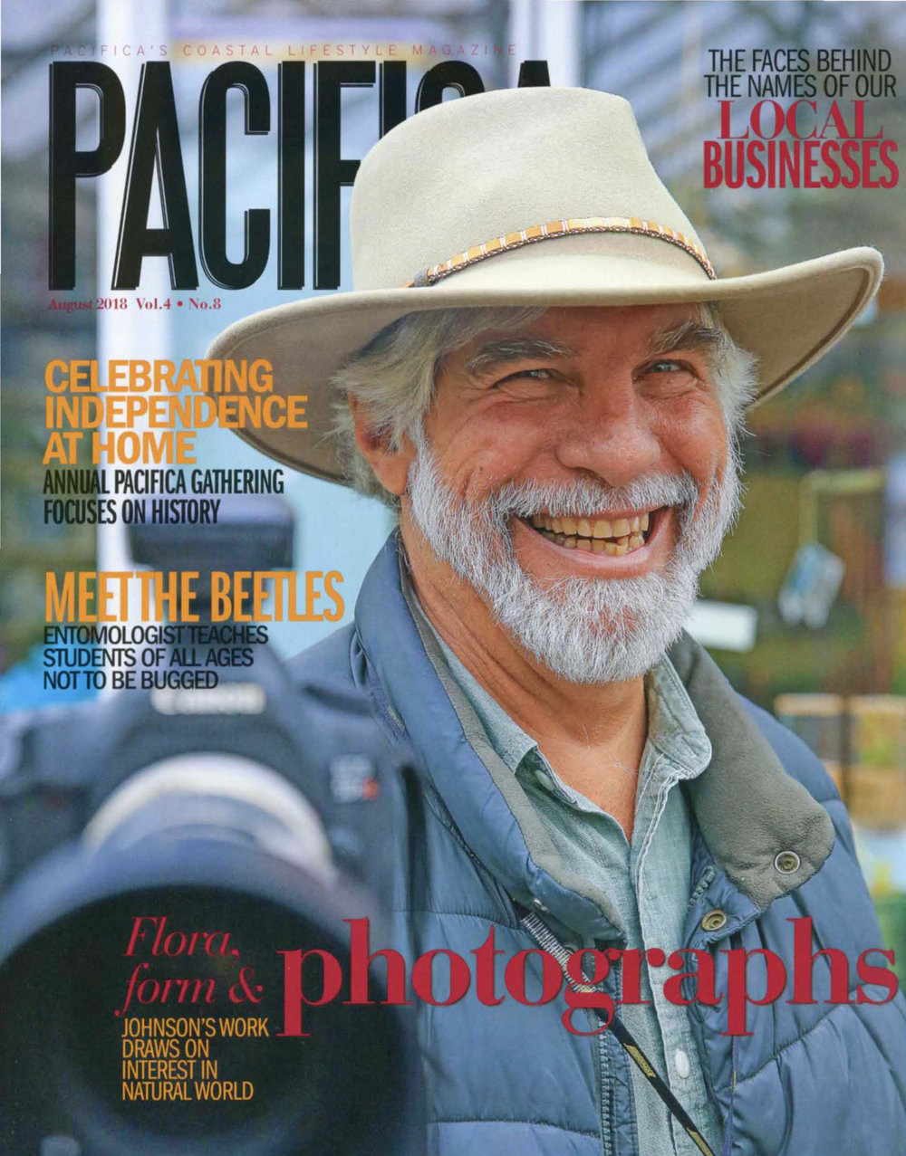Pacifica Magazine.August 2018.Photograph by Kyle Ludowitz.