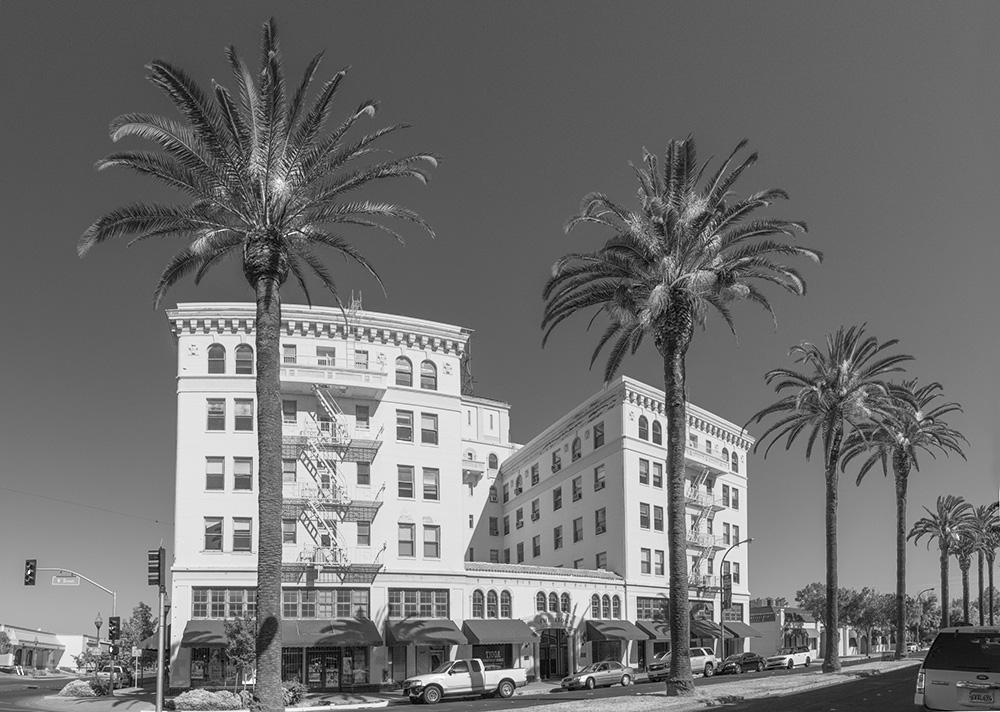 Hotel Tioga. Merced, CA. 2018. Canon EOS 5DSr.