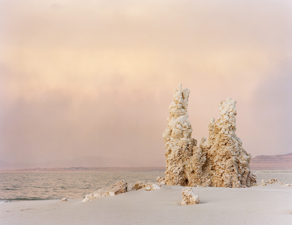 Dusk, Mono Lake 1979. from  At Mono Lake .