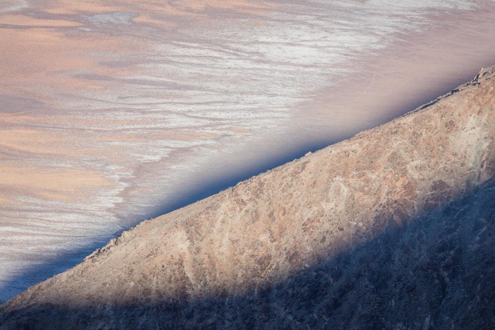 Dawn. Valley Floor and Shadows. Death Valley. 2018. Canon EOS 5DSr.