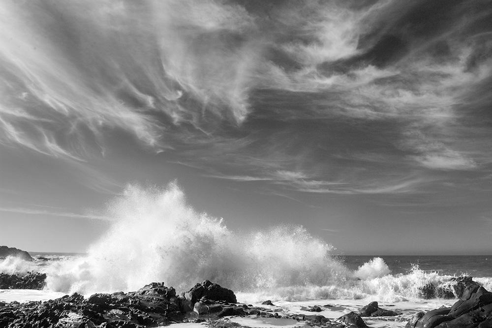 Wave and Clouds, CA. 2005. Kodak DCS Pro 14N.