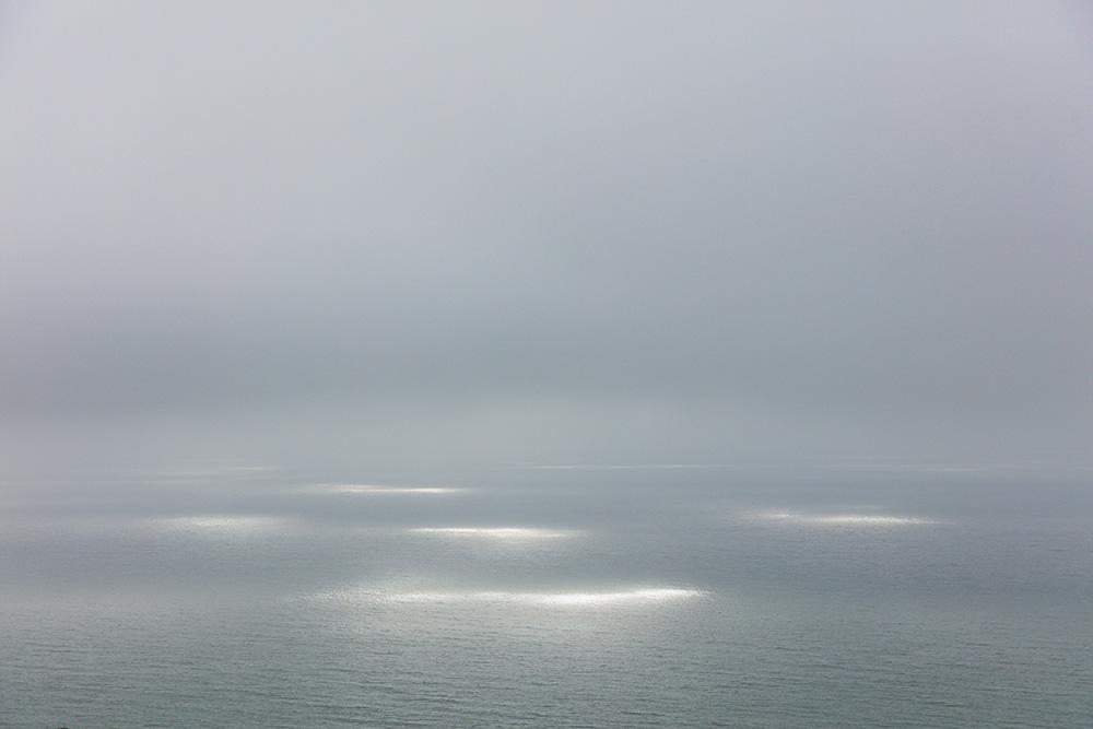 Sunspots on Sea, Pacifica CA. 2018. Canon EOS 5DSr.