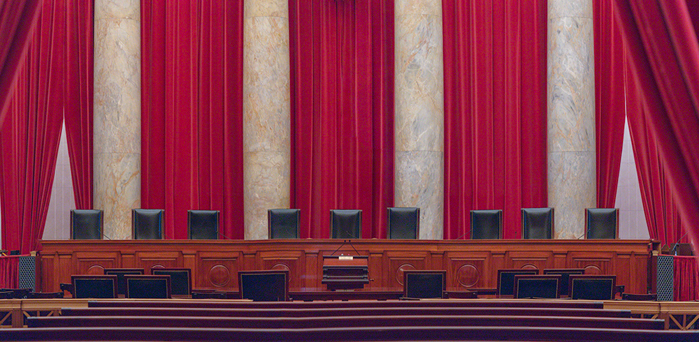 The Bench. United States Supreme Court. October 2018. Canon EOS 5DS R.