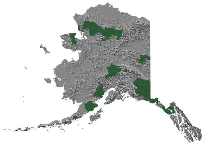 Alaska National Parks.