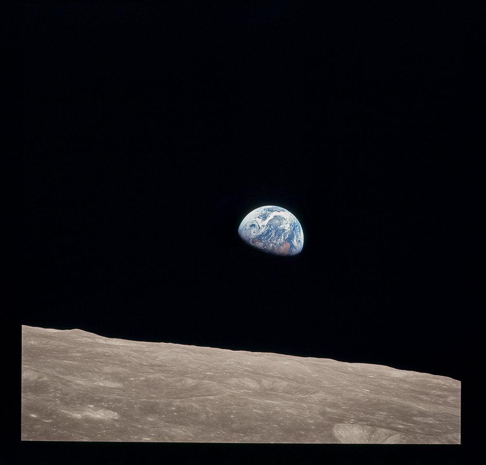 Earthrise. Apollo 8. 1968.