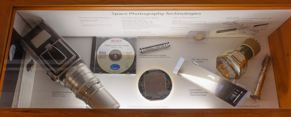 Space Photography Tech Display.