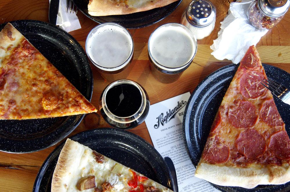 Four pizza meal.jpg
