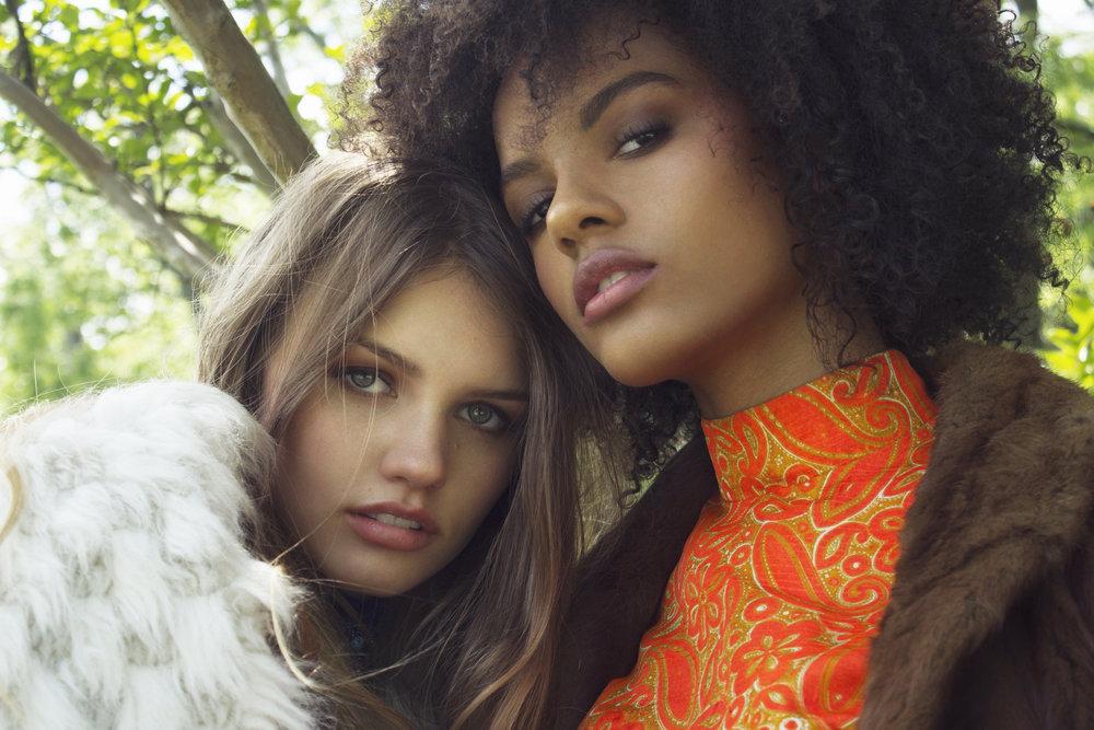 Photo/Beauty: Marci Badman  Styling: Sherry Rhine-Padilla  Models: Hannah Misko/Shannon Sullivan,Tribe Talent/Wilhelmina