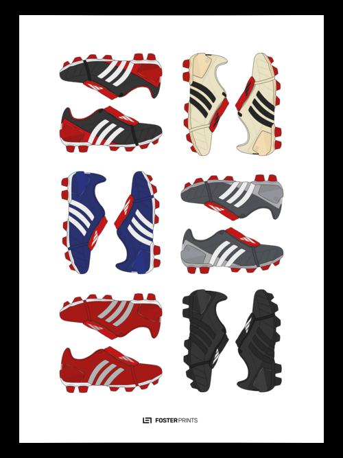 2462768e8f55 Adidas Predator Mania Collection Football Poster — Foster Prints ...