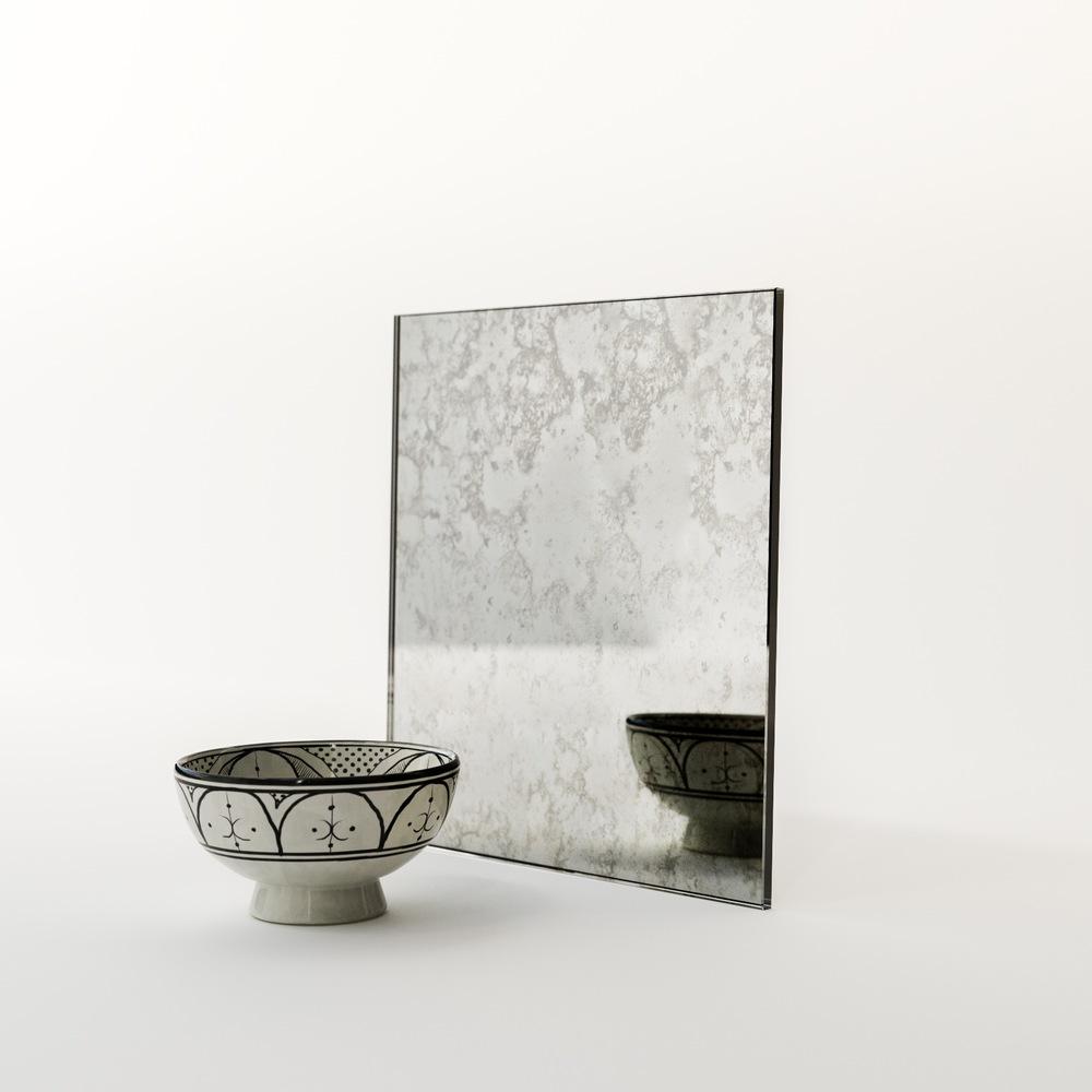 Belgian Antiqued Mirror