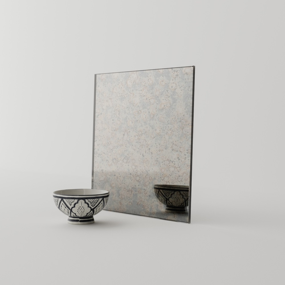 Sample Piece of Antiqued Mirror