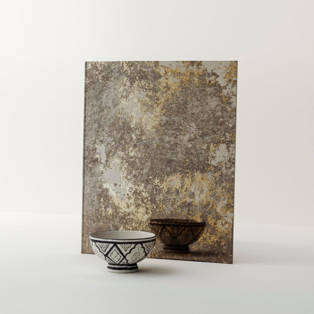 Sample Piece of Antiqued Mirror