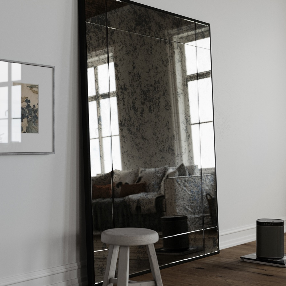 Mirror coop for Leaning wall mirror
