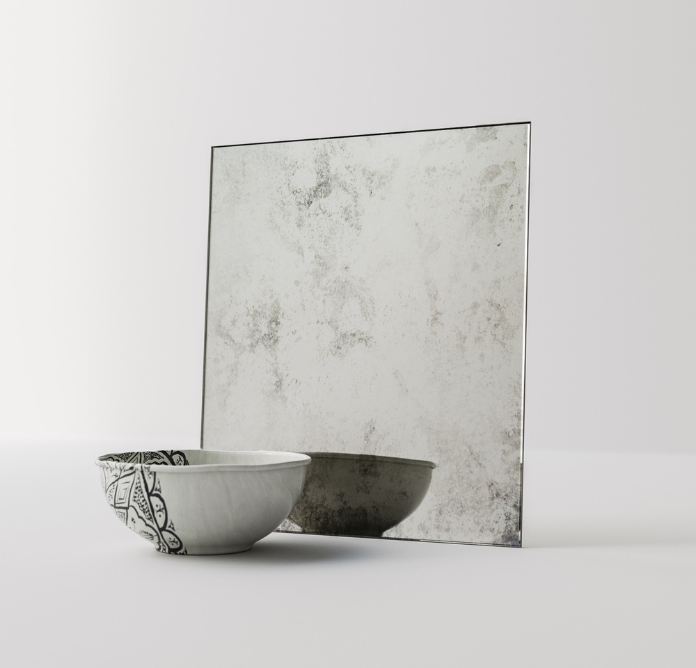 Another Photo of Antiqued Mirror Swatch