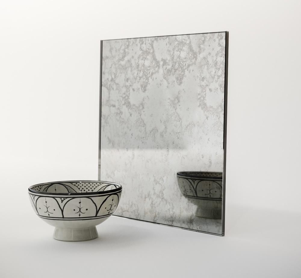 Antiqued Mirror Swatch