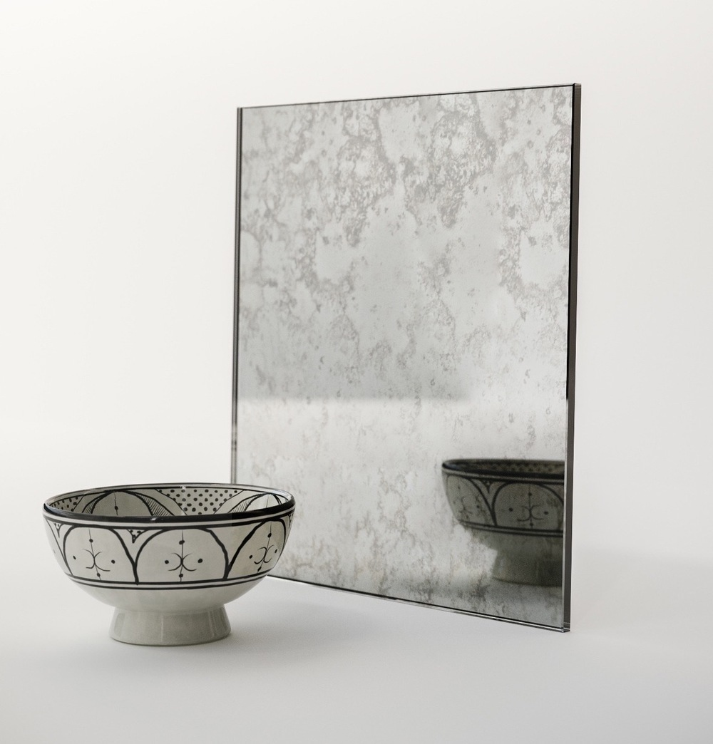 Bold Belgian Mirror