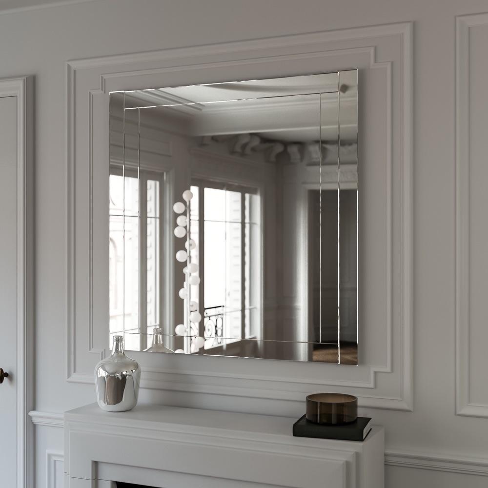 Mosaic style MidCentury Wall Mirror