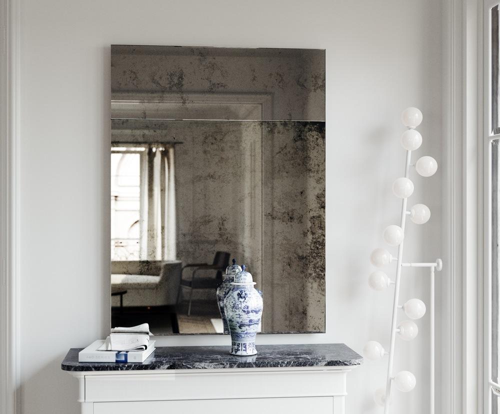 Trumeau Style Wall Mirror
