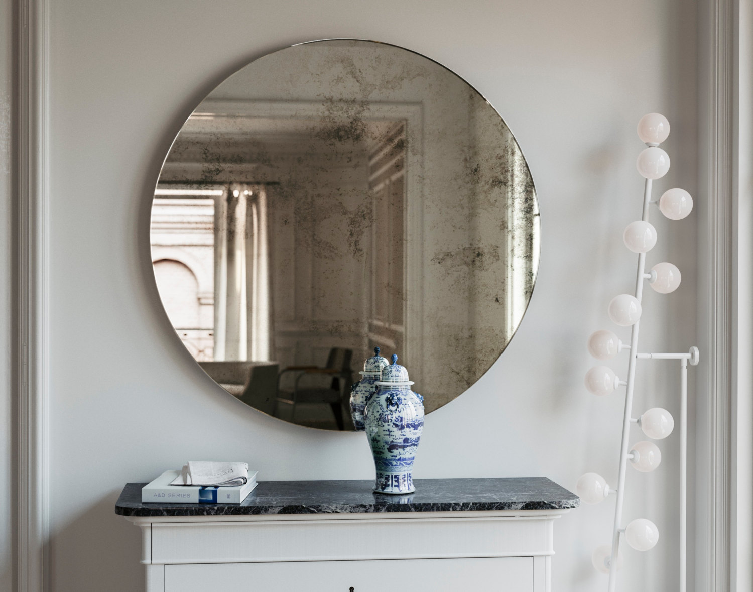 Round Wall Mirror by MirrorCoop