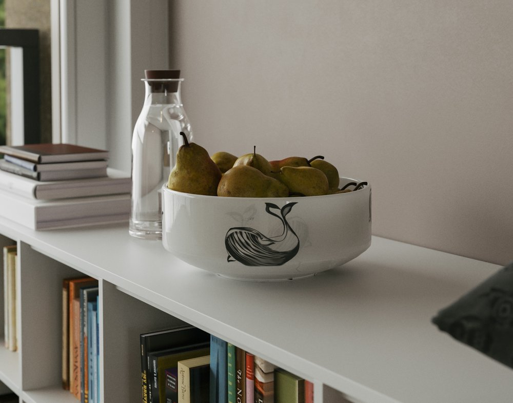 A Nautical-Inspired Fruit Bowl