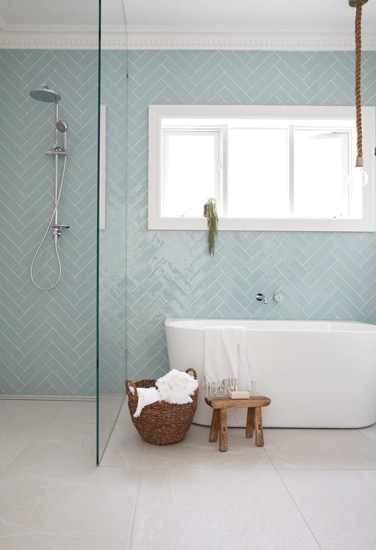 Stylish, Modern Tiles from  Three Birds Renovation