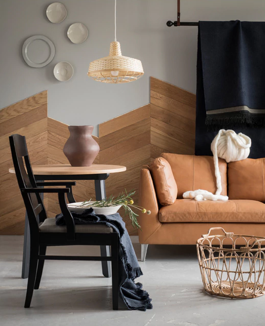 MidCentury Modern Room from Ikea