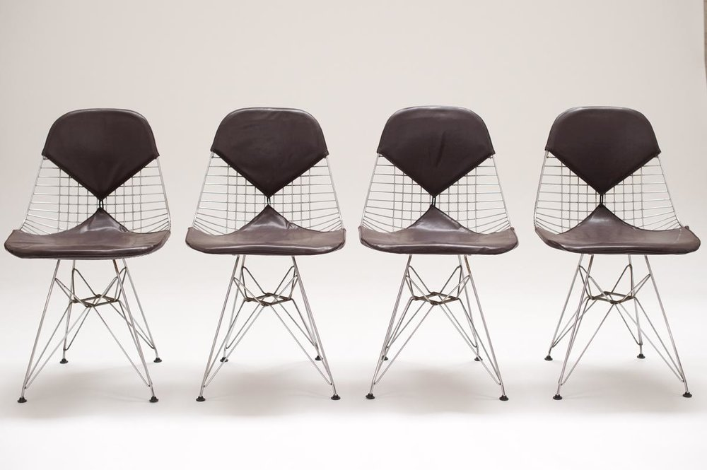 Mid Century Modern Chairs by  Charles & Ray Eames