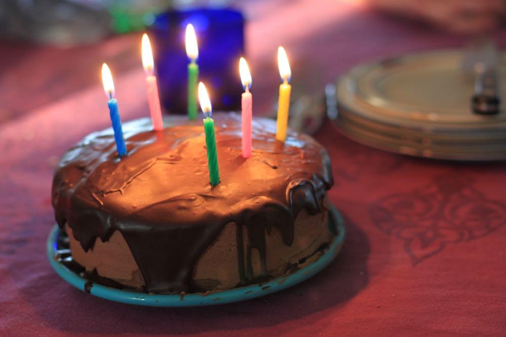 Sarah's family's famous birthday cake!
