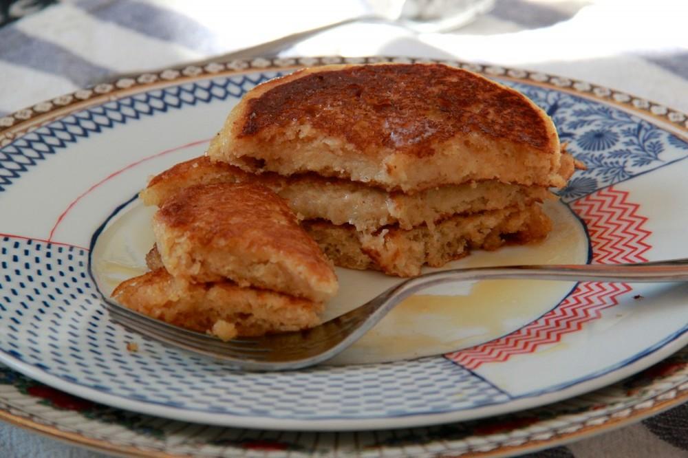 Molly's Almond Milk Pancakes
