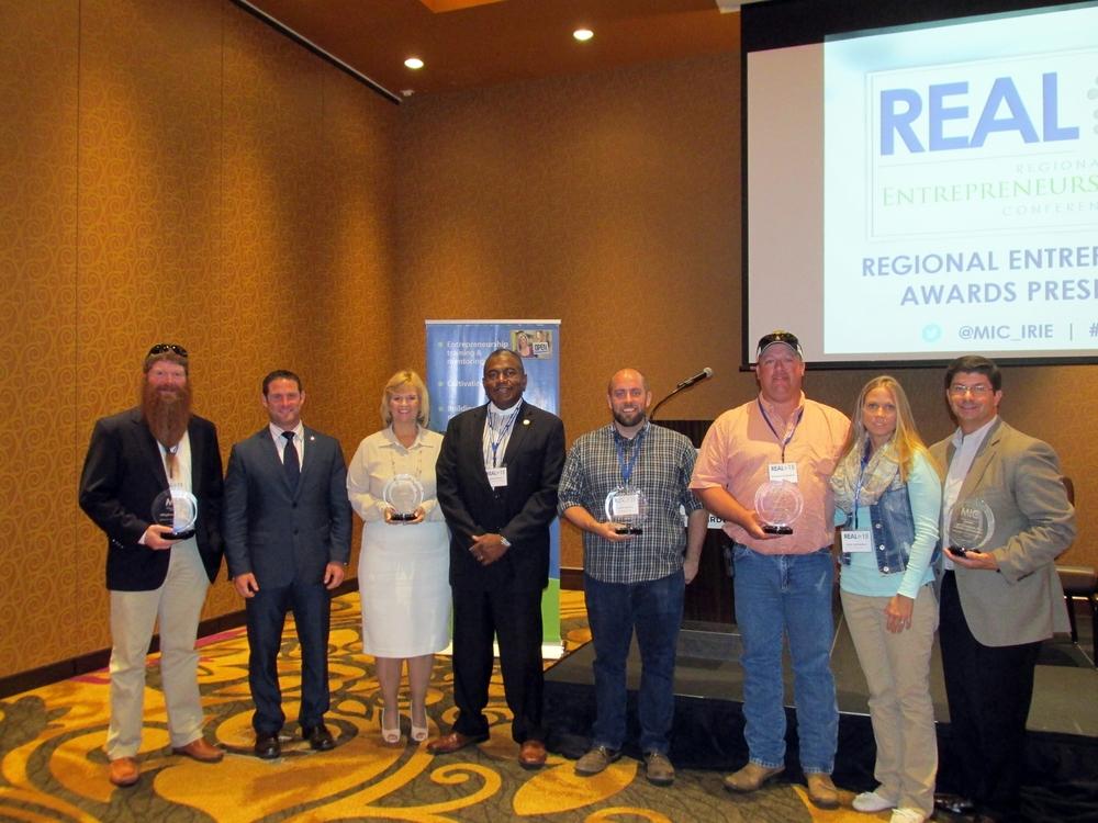 2015 Regional Entrepreneurship Award Winners