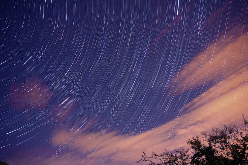 Long exposure at night