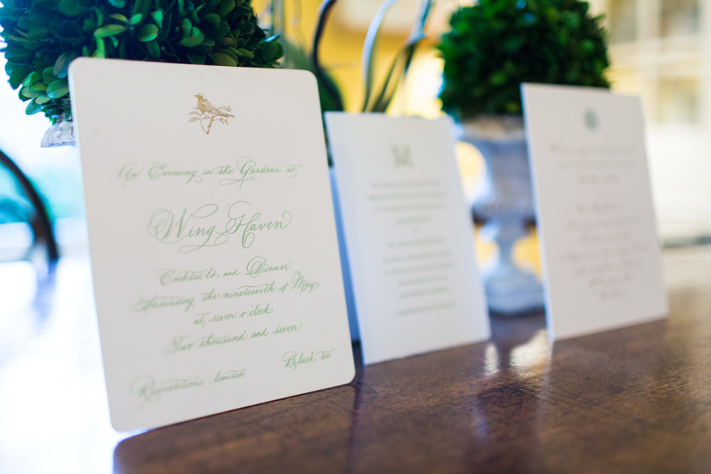 Invitations and Special Occasions