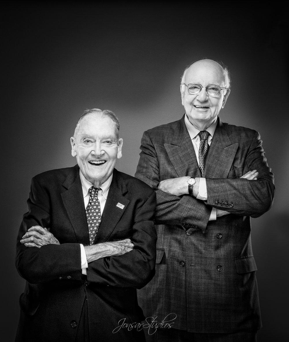 Jack Bogle and Paul Volcker