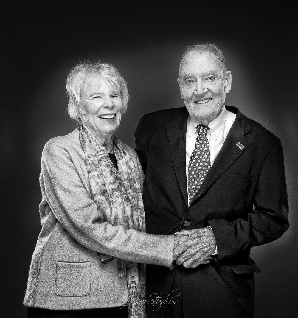 John Bogle and Wife Erica