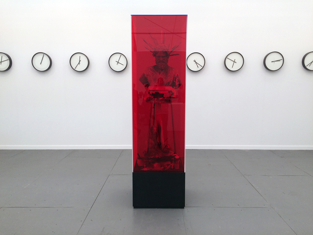 James Cohan Gallery – The Last Nation, Folkert De Jong and Timepieces (Solar System), Katie Patterson