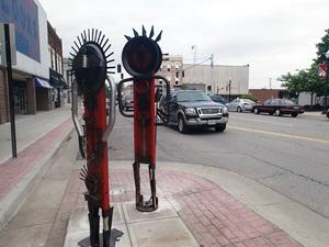 Assorted Metal Figures, Gary Monaco