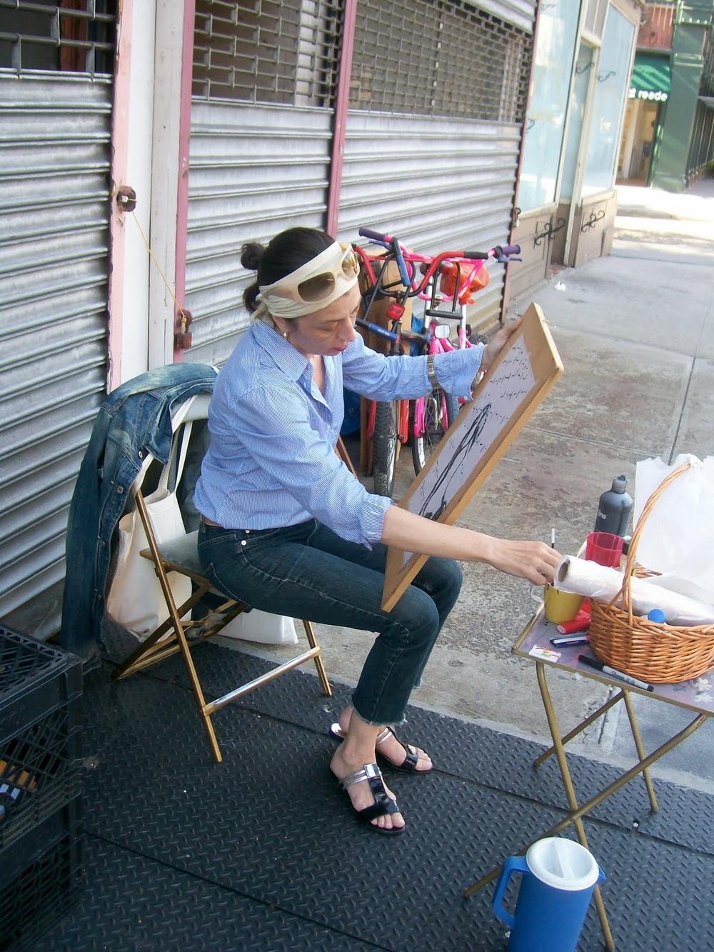 Kathleen on Hudson St. NYC