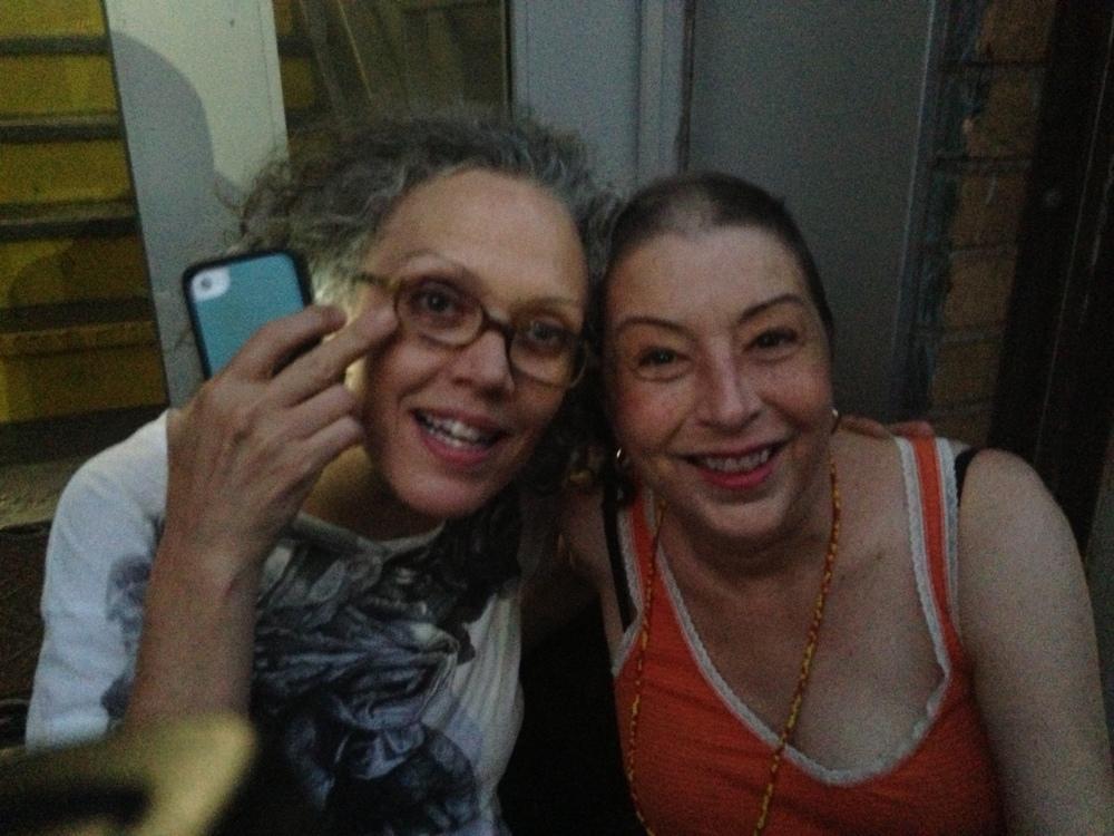w/ Kate Valk  August 8, 2014