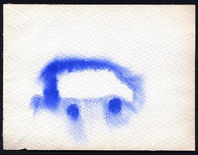 untitled blue car