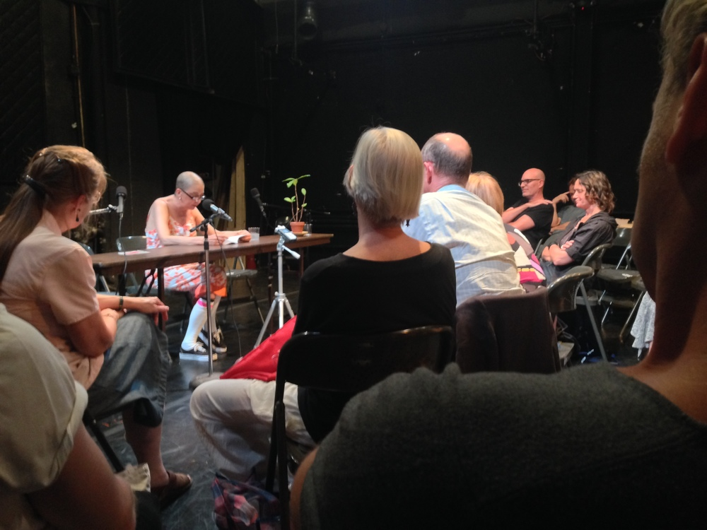 Erje Ayden reading  The Performing Garage, July 10, 2014