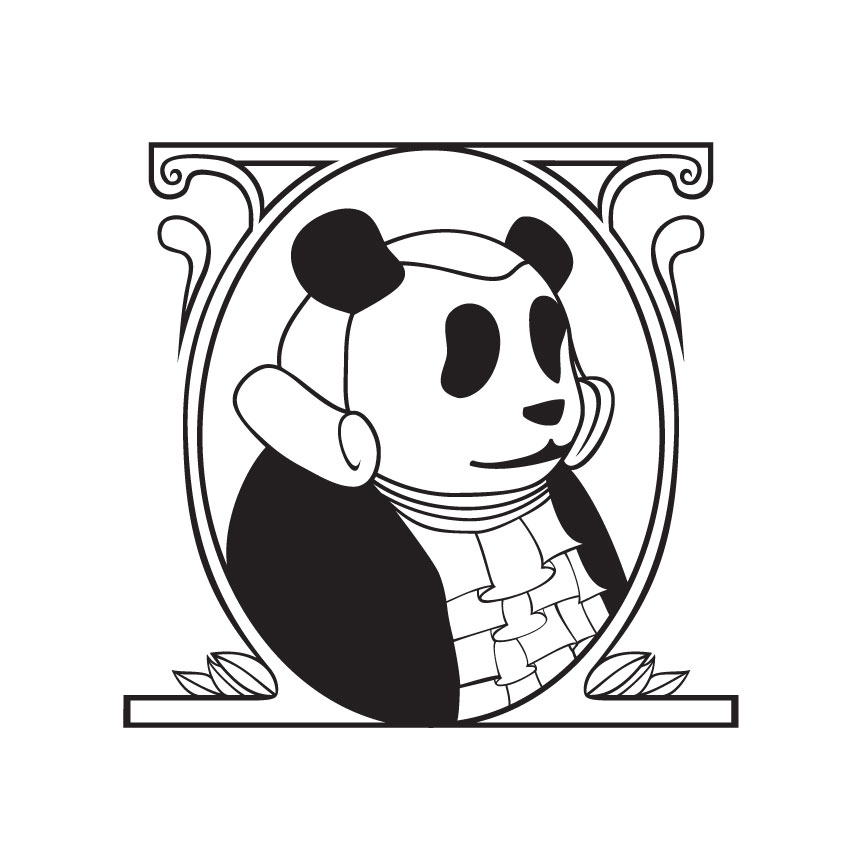 Panda George Washington, 2005 I'm actually not sure why I made this.  Like most of what I make, I probably just thought it would be amusing.  I was correct.