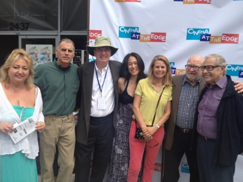 From CATE 2014 | Michelle Danner, Mark Ridel, Ed Asner, Brian Connors and friends.