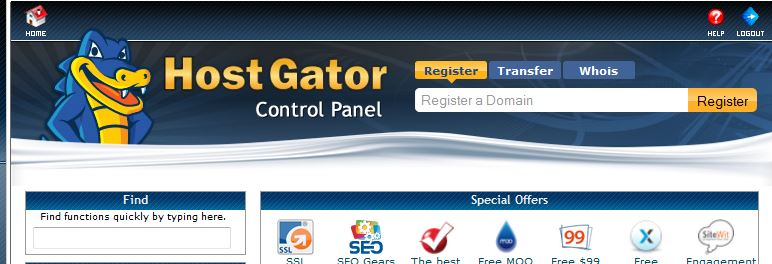 How to redirect a URL in Hostgator