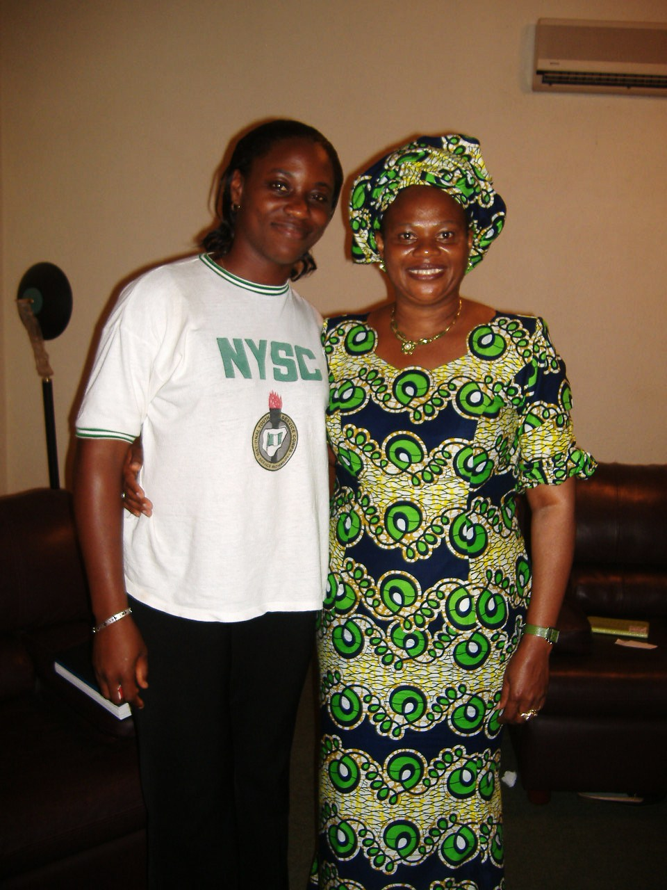 Nkolika with Late Prof Dora Akunyili